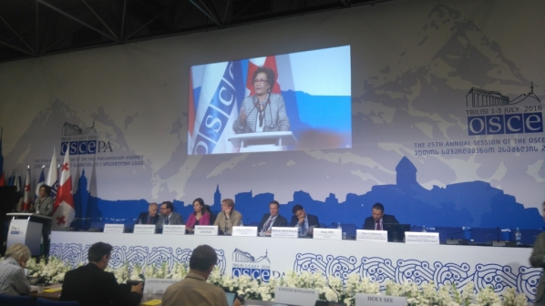 Day four of the OSCE PA Annual Session in Tbilisi