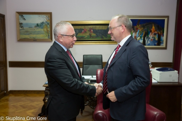 Vice President Mustafić meets with Director of the Konrad Adenauer Foundation (KAS) for Serbia and Montenegro