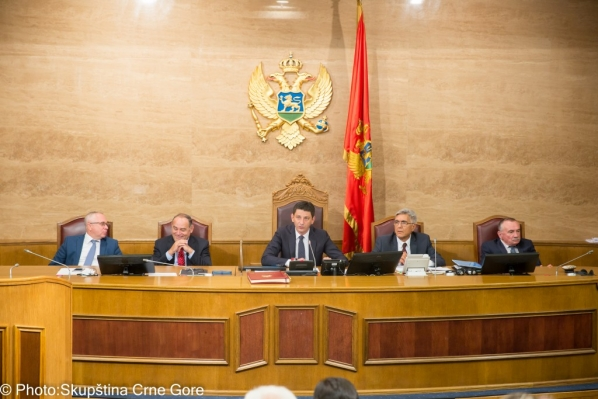 Sittings of Tenth and Seventh Extraordinary Session of the Parliament of Montenegro
