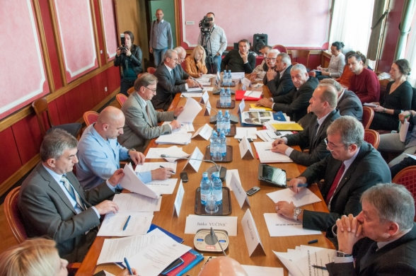 Seventh meeting of the Commission for Monitoring and Control of privatization Process held