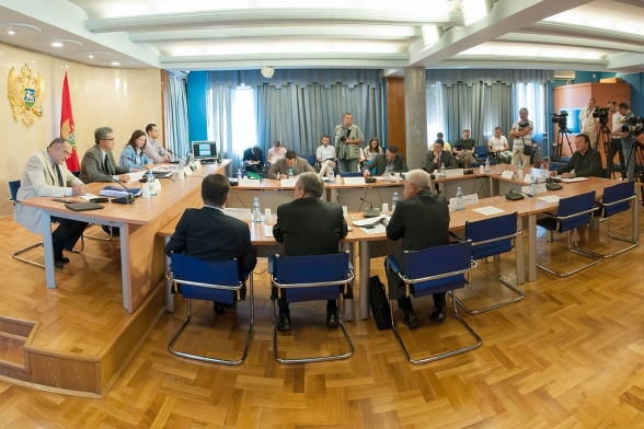 Ninth meeting of the Inquiry Committee for the purpose of collecting information and facts on the events relating to the work of state authorities regarding publishing of audio recordings and transcripts from the meetings of DPS authorities and bodies held