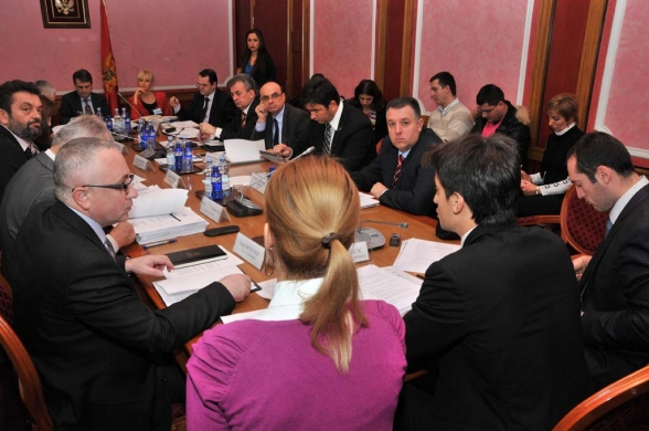 First meeting of the Security and Defence Committee held
