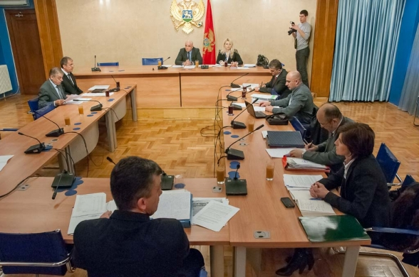 Second Meeting of the Commission on Monitoring and Control of Privatization Process