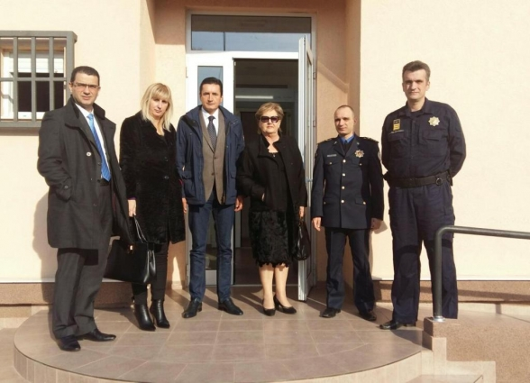 Members of Delegation of the Parliament of Montenegro to PACE visit the Reception Centre for Foreigners