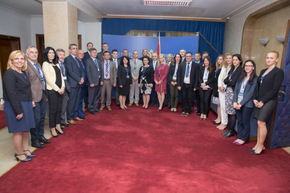 Parliament of Montenegro hosts a meeting of secretaries general of parliaments in the region