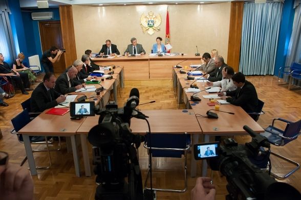 Twelfth meeting of the Inquiry Committee for the purpose of collecting information and facts on the events relating to the work of state authorities regarding publishing of audio recordings and transcripts from the meetings of DPS authorities and bodies adjourned