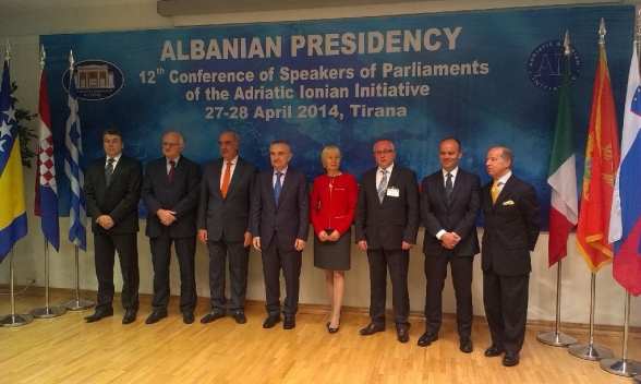12th Conference of Speakers of Parliaments of the Adriatic-Ionian Initiative held