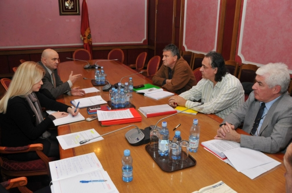 "Chairperson of the Commission for Monitoring and Control of the Privatisation Procedure holds a meeting with representatives of workers and minority shareholders of a trading company ""PKB Herceg Novi"" JSC Zelenika"