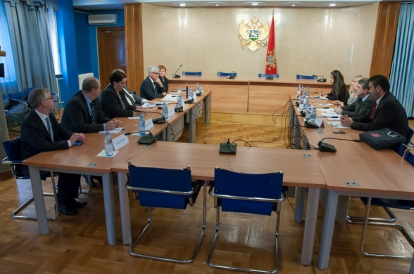 Security and Defence Committee representatives hold a meeting with Head of the Western Balkans Division of the European External Action Service