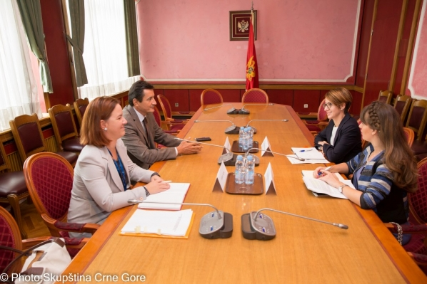 Chairperson of the Committee on Tourism, Agriculture, Ecology and Spatial Planning meets with Head of Democratisation Department of the OSCE Mission