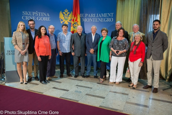 Chairperson of the Committee on International Relations and Emigrants meets members of the Frankish-Montenegrin Society