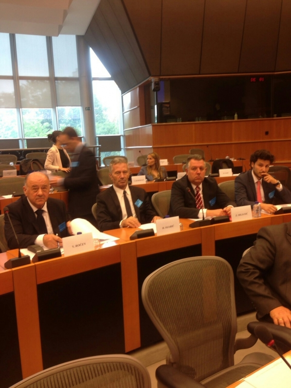 Delegation of the Committee on Human Rights and Freedoms participates in the Inter-parliamentary Conference in Brussels