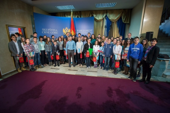 President of the Parliament of Montenegro opens VI session of Children's Parliament