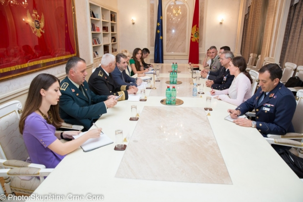 Meeting of Chairperson of the Security and Defence Committee with NATO's Supreme Allied Commander Transformation (SACT) held