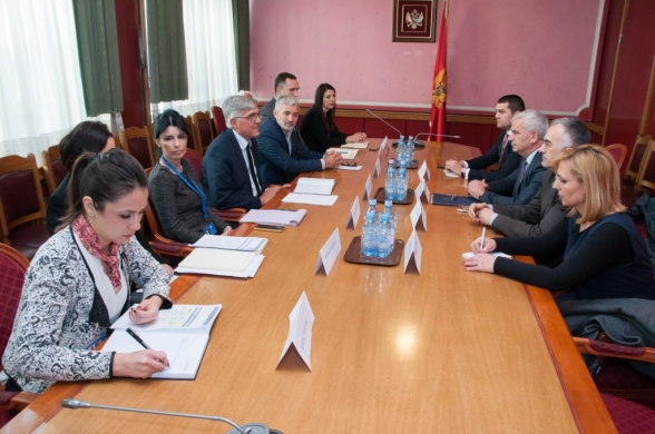 Visit of the Secretary General of the Parliament of Kosovo to the Parliament of Montenegro