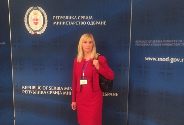 Deputy Chairperson of the Security and Defence Committee Ms Snežana Jonica participates in the OSCE Workshop in Belgrade