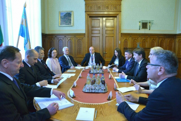 Meetings of the Chairperson of the Committee on International Relations and Emigrants in Hungary