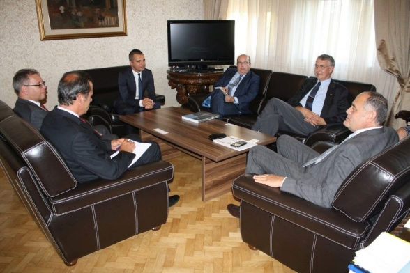 Vice President Simović receives a delegation from the Bundestag