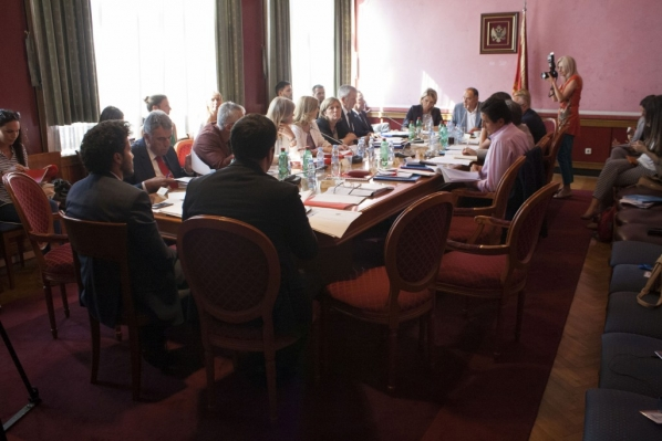 Committee on monitoring the application of laws and other regulations important for building trust in the election process holds its third meeting