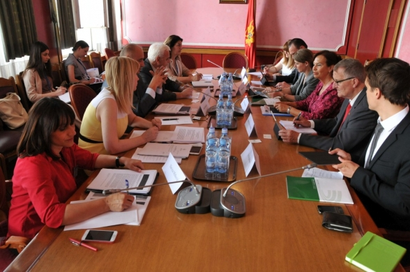 Representatives of the Committee on Political System, Judiciary and Administration hold a meeting with co-rapporteurs of the Monitoring Committee of the Congress of Local and Regional Authorities of the Council of Europe