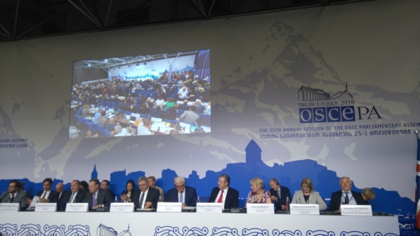 Delegation of the Parliament of Montenegro participates in the 25th Annual Session of the OSCE PA