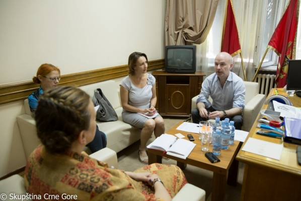 Chairperson of the Gender Equality Committee meets with representative of the European Commission